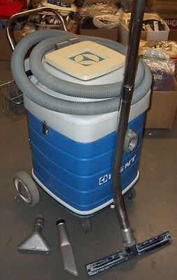 KENT Industrial KT-12 Commercial WET & DRY Canister Vacuum + Attachments USA