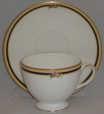 Wedgwood Leigh Shaped Clio Cup & Saucer Set