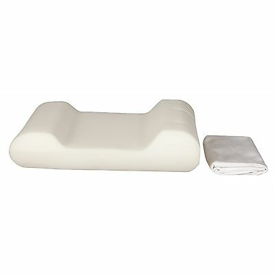 Travel Size Cervical Pillow, Carved Foam
