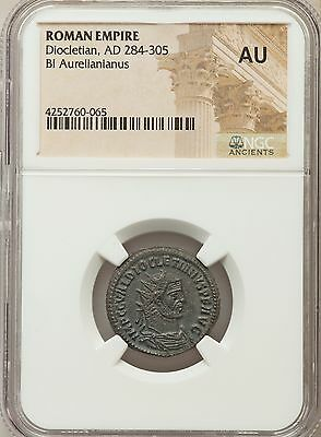Roman Empire Diocletian AD 284-305 Bl Aurelianianus NGC Ancients AU