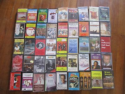 BULK  Clearance Various RETRO MIX opera easy listen cassette tapes x 45  (Lot 8)