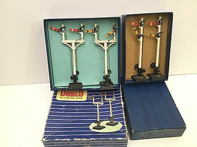 Job Lot of Hornby Dublo OO Gauge D2/D3 Signals