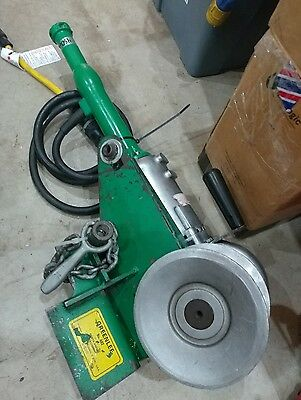 Greenlee 442 Porta-Puller green Lee wire puller