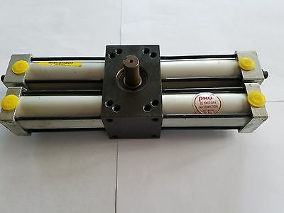"PHD R11A2180-A-P tandem rotary actuator 1.25"" o.d. cylinders, .5"" shaft"