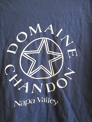 Domaine Chandon Winery Napa Valley California Mens Navy Blue Xl X-Large T-Shirt