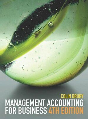 Management Accounting for Business by Drury, Colin Paperback Book The Cheap Fast