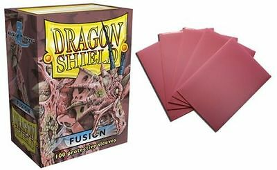 Deck Box / Deckbox - 100 Standard size Card Sleeves Dragon Shield Fusion
