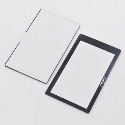 New LCD Screen Outer Glass Protector Window For Sony A5000 A6000 Canon SX510