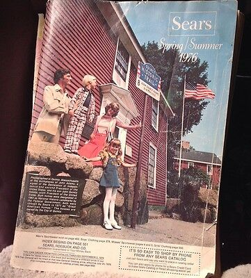 1976 Sears Spring Summer Catalog Girdles and Leisure Suits WOW LOOK RARE