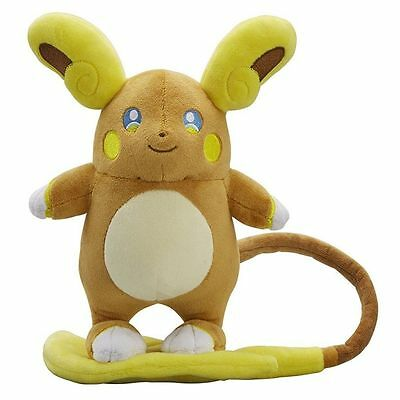 Pokemon Center Monster Alola Raichu Plush Toy Stuffed Figure Doll 8 inches USA