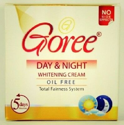 Goree Day and Night Whitening Cream oil Free total Fairness System