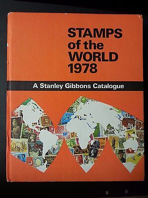 Stanley Gibbons Stamps of the world 1978 Catalogue