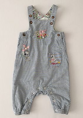 Next Fully Lined Dungarees Size 3-6 Months Baby Girls