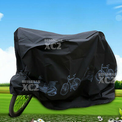 Waterproof Rain Dust Bike Bicycle Cycling Cover Outdoor Protector UV Resistant