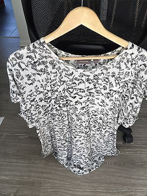 Sussan Maternity White Top Size 12