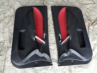 Honda Civic Type R EP3 2003-2006 Front Facelift Red Interior doorcards see pics