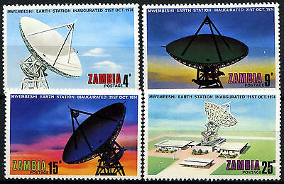 Zambia 1974 SG#222-5 Mwenbeshi Earth Station MNH Set #D48215