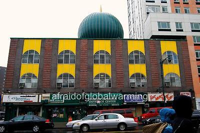 """Photo 2000s Harlem, New York  """"Malcolm Shabazz Mosque - W 116th St"""""""