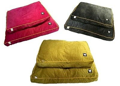 Mr Barker cushion dog bed pet bed available in 2 sizes and 3 colours