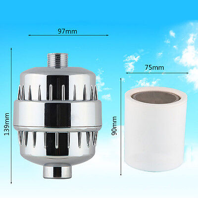Shower Filter Softener Chlorine Heavy Metal Removal Water Purifier