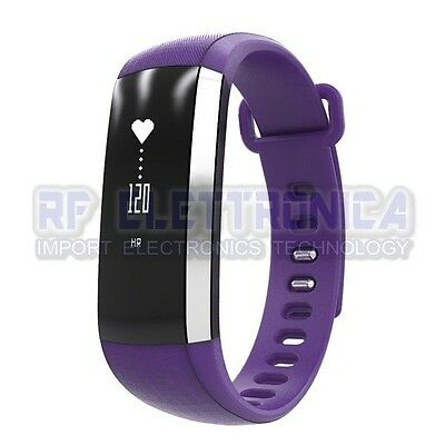 OLED Oximeter Blood Pressure Heart Rate Monitor Bluetooth Sport Smart Armband W