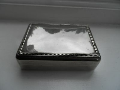 Vintage Silver Plated Jewellery Display Box No Reserve