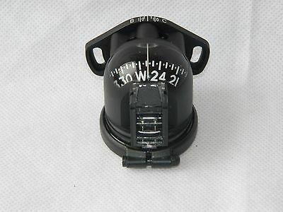 E2B Navigation Magnetic Mounted Standby Compass, New in Box [3R7B]