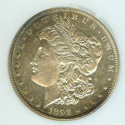 1898 Morgan Silver Dollar  Ngc Ms64 Dmpl