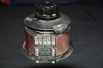 One Vintage General Radio Model V10H Variac  Auto-Transformer