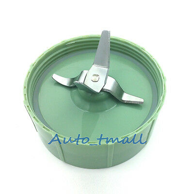 Cross Blade Assemly With Seal Ring For Baby Bullet Blender Replacement-Green 1pc