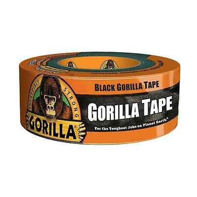 W x 12yd L Black Tough Reinforced Backing 4595542 NEW Gorilla Duct Tape 1.88in