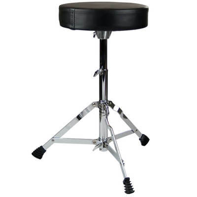 "Drum Stool - Padded 2"" Drum Throne - Warehouse Clearance Bargain!"