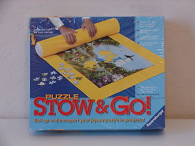 "NEW Ravensburger Puzzle MAT STOW & GO for up to1500 pcs, 46"" X 26"" #17960"