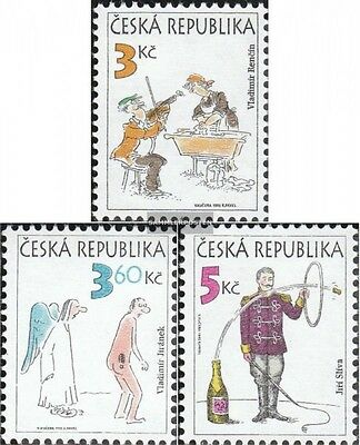 czech republic 84-86 (complete.issue.) unmounted mint / never hinged 1995 humor