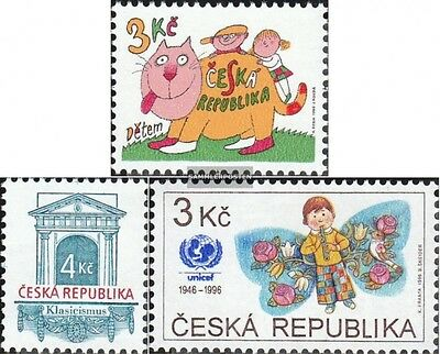 czech republic 117,118,121 (complete.issue.) unmounted mint / never hinged 1996