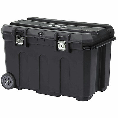 Stanley 50 Gal. Portable Rolling Tool Box Truck Bed Job Site Large Storage Chest