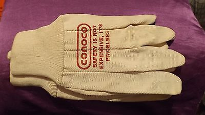 Conoco  Gloves ( 3 pair SAFETY IS NOT EXPENSIVE, IT'S PRICELESS