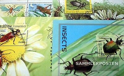Thematics 10 different Insects blocks