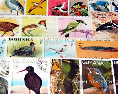Thematics 300 different Birds stamps  Birds 300