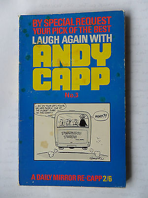 Laugh Again With Andy Capp No 3  Reg Smythe 1969 Daily Mirror Sunday Florrie