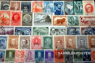 Argentina 150 different stamps