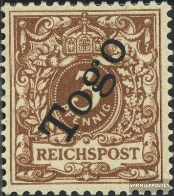 Togo (German. Colony) 1b tested fine used / cancelled 1898 print edition