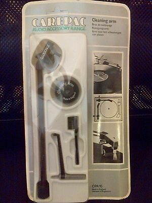 Vintage Carepac Cleaning Arm Audio Accessory Range unopened