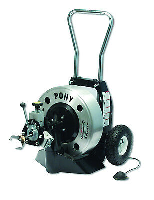 Trojan Pony Sewer & Drain Cleaning Machine .55 (dia) Ready to Run Package TR5555