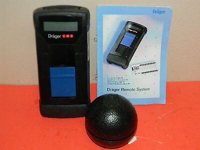 Drager Cms Permissiable Gas Anazlyzer P/n: 6405300 Detector