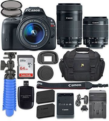 Canon EOS Rebel SL1 Digital SLR Camera with Canon EF-S 18-55mm f/3.5-5.6 IS STM