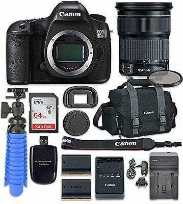 Canon EOS 5D Mark IV Digital SLR Camera with Canon EF 24-105mm f/4L IS II USM Le