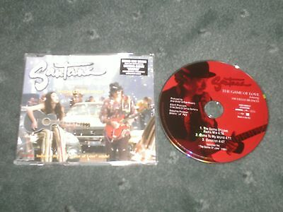Santana-The Game Of Love Feat Michelle Branch-Rare Cd Single/pop
