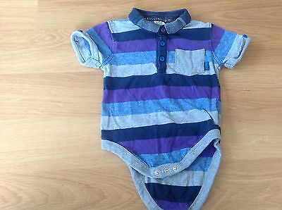 Ted Baker Baby Vest Top, Age 9-12 Months
