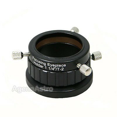 """Baader 1.25"""" / T2 Eyepiece Holder with Helical Microfocuser # T2-8A 2458125"""